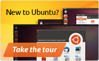 New to Ubuntu? Take the tour