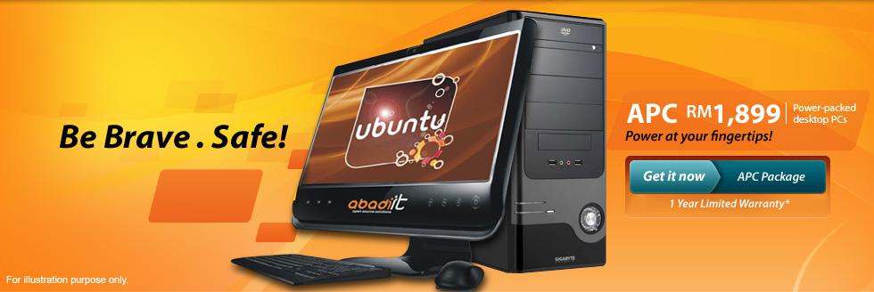 Abadi Power-packed Desktop PCs